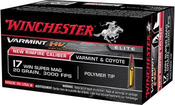 .17 Winchester Super Magnum Rimfire