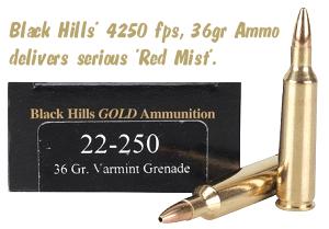 Black Hills 22-250