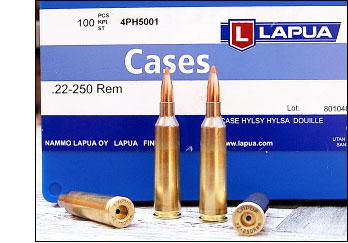 Lapua 22-250 brass