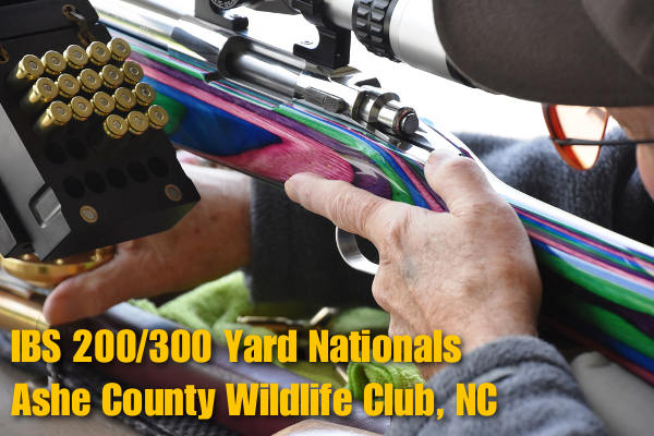IBS ashe County 200 300 Nationals Score Shooting