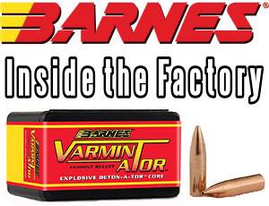 Barnes Bullets Factory
