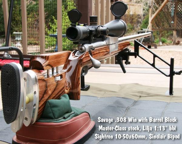 Savage .308 Master Class Barrel Block