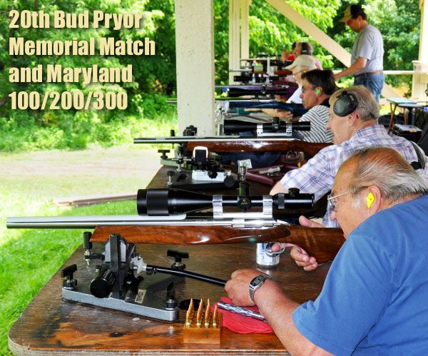 Bud Pryor Memorial Score Shoot Maryland benchrest championship 100 200 300