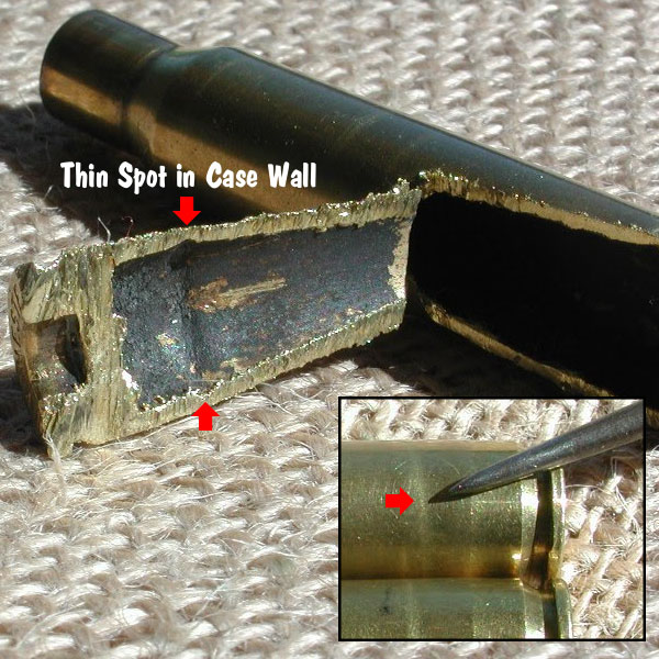 cartridge case separation