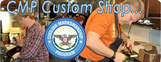 cmp custom shop USGI rifle repairs