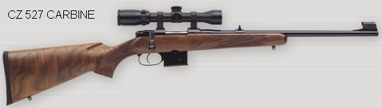 CZ 527 rifle
