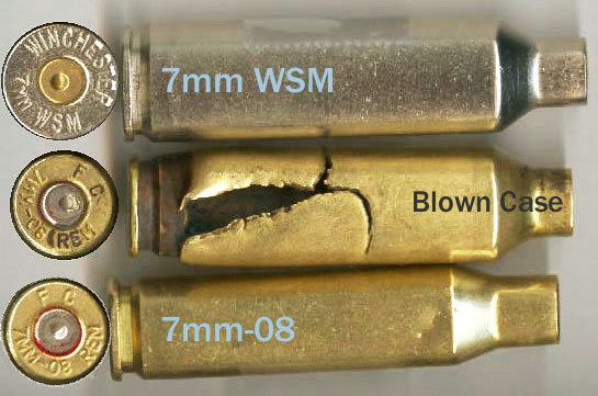 Ruptured Cartridge Case