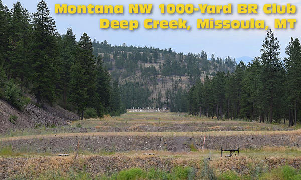 Deep Creek Montana 1000 yard range