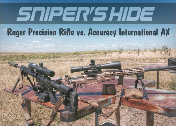 Ruger Precision Rifle Mad minute Accuracy International AX