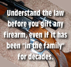 ATF Firearms gun gifts