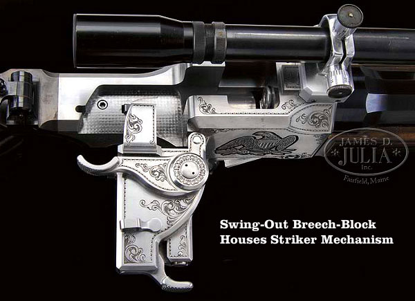 .50 BMG J.T. 50-caliber Smith breech block falling block custom rifle