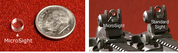 Microsight Rifle lens Zone Plate