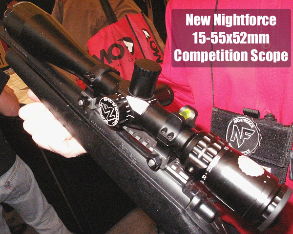 Nightforce 15-55x52mm competition scope