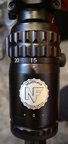 Nightforce 15-55x52mm Competition Scope 2013 Shot Show