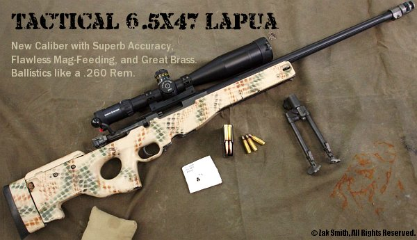 zak smith 6.5x47 Lapua Accuracy International