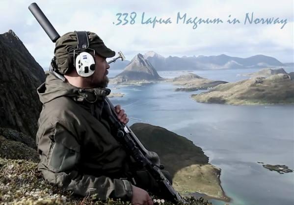 Norway Fjord .338 Lapua Magnum Norma Blaser R8 Zeiss