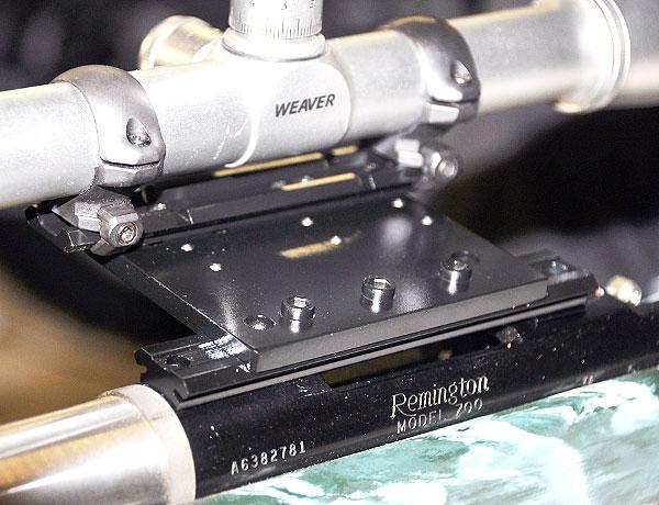 offset scope base mount