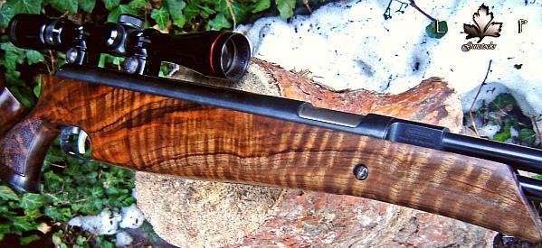 Łukasz Pietruszka rifle stock wood turkish walnut