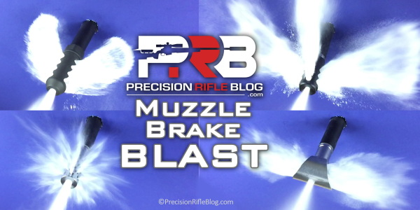 Precision Rifle Blog Muzzle Brake Test Blast Powder