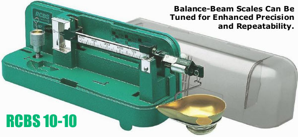 RCBS Balance Beam scale 10-10