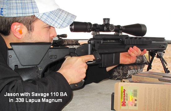 Savage 110 BA Tactical  338 LM within AccurateShooter com