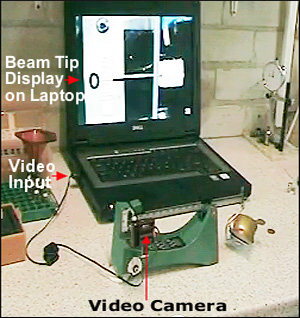 Balance Beam Scale Video Display