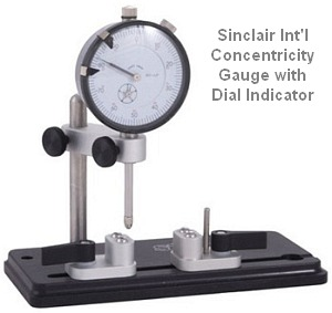 Sinclair Concentricity gauge