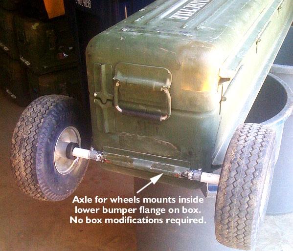 Stinger Missile Gun Case with Wheels
