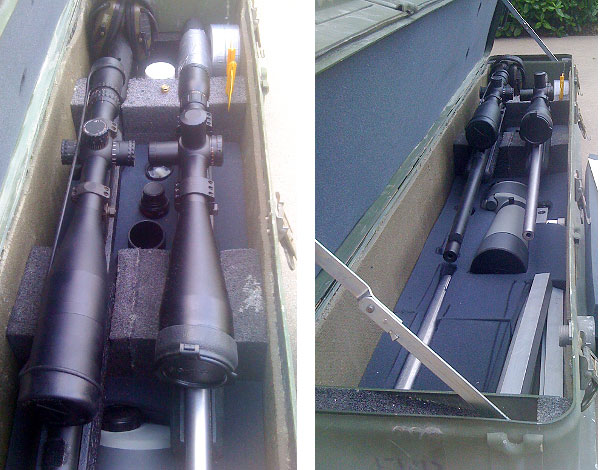 Cabelas safari gun case