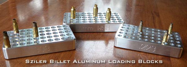 Billet Aluminum Loading Block