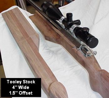 Tooley Offset Stock