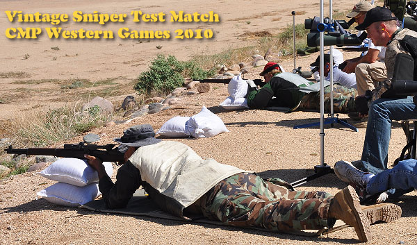 Vintage Sniper Test CMP