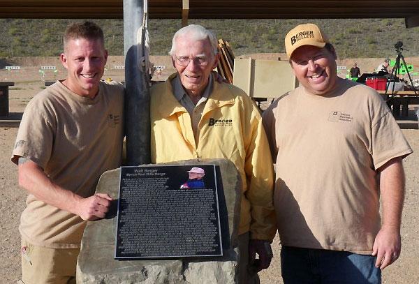 Walt Berger memorial Benchrest Range Ben Avery