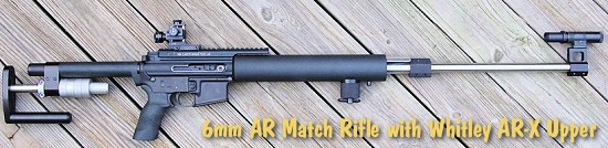 AccurateShooter AR15 spacegun rifle