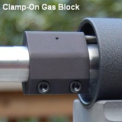 AR15 clamp-on gas block