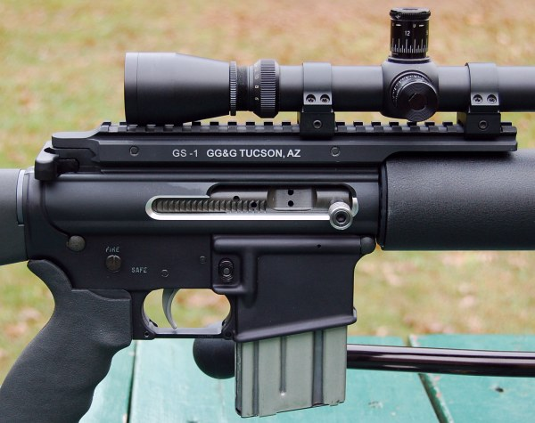 GG&G GS-1 Extended Scope Rail