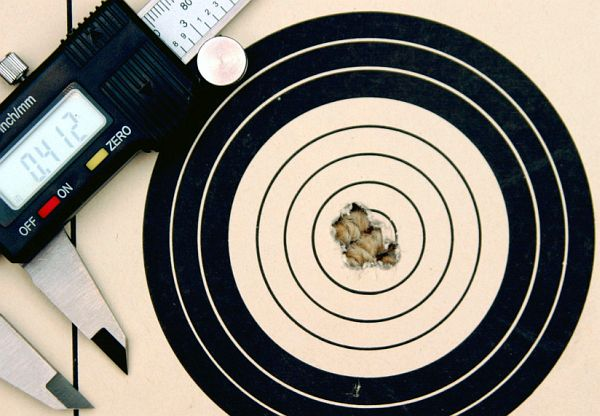 30 BR Hunter Class Rifle Target