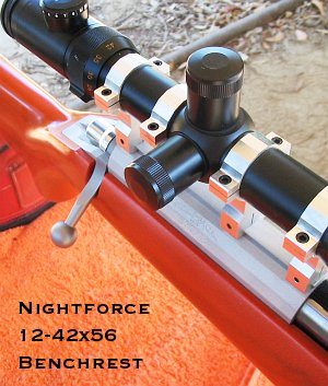 Nightforce 12-42x56 Benchrest scope