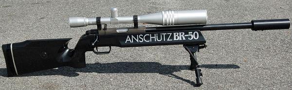 Harvey Anschutz BR-50 Benchmark Barrel