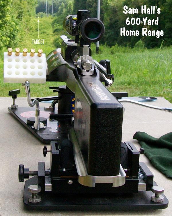 Hall Benchrest Heavy Gun
