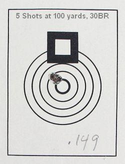 Davidson 30BR group target