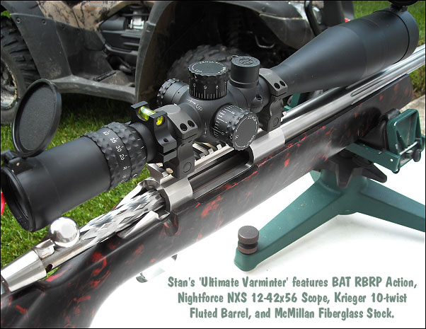 6mm 6.5x47 Lapua 6-6.5x47 varmint rifle mcmillan BAT action 6mmAI