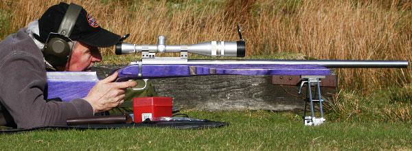 Vince Bottomley F-TR European championship rifle .308 Win bipod Leupold