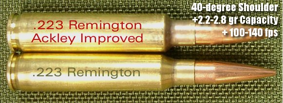 .223 Remington AI Ackley Improved
