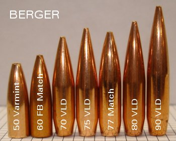 Berger VLD bullets