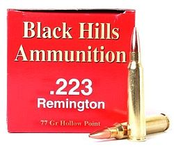Black Hills 223 Rem Remington Ammo