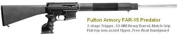 .223 AR15 Varmint rifle Fulton
