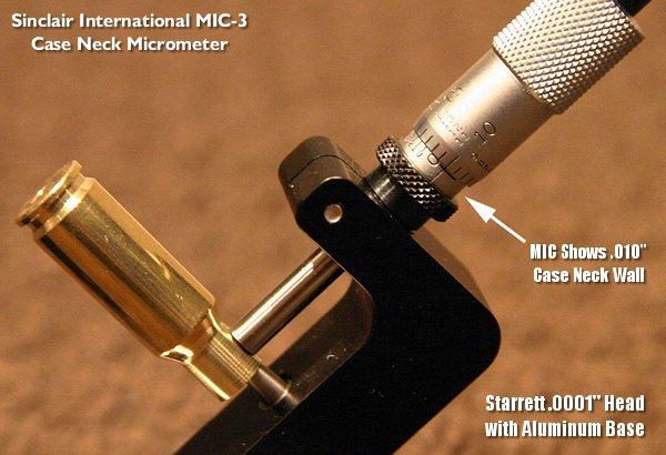 Sinclair Starrett Neck Micrometer