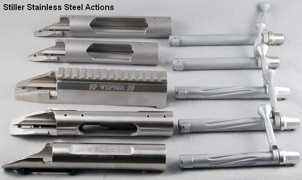 Stiller Precision Viper, Diamondback, Predator Actions