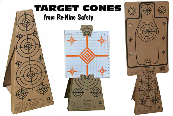 Re-9 Re-Nine Safety Target Cone Carboard holder support